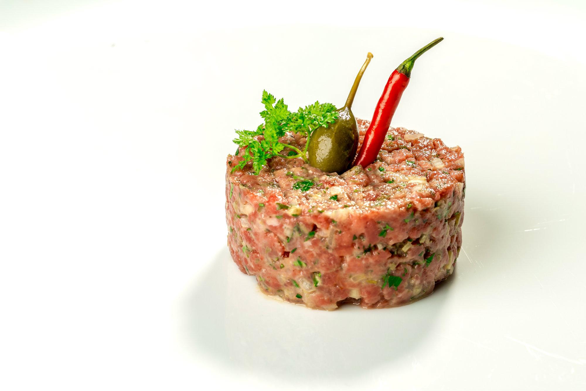 Beef Tartar Le Salzgriess Beef Französisches Restaurant Wien