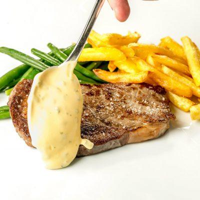 Entrecôte Salzgriess Beef Französisches Restaurant Wien